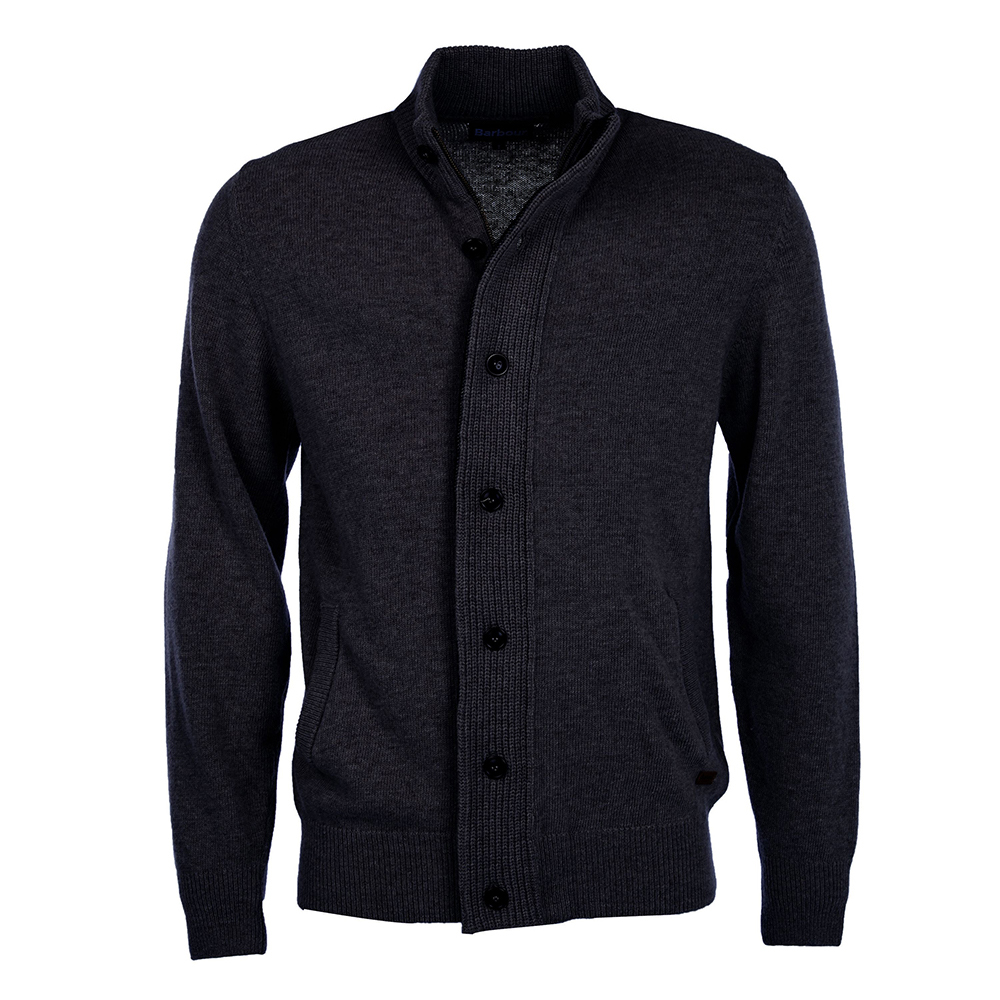 Barbour Patch Zip Thru Sweater
