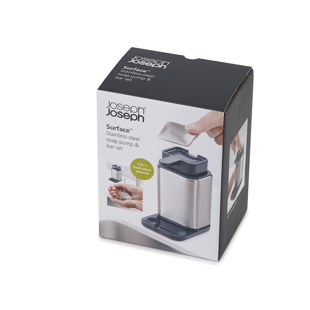 Joseph Joseph  Stainless Steel  Soap Pump