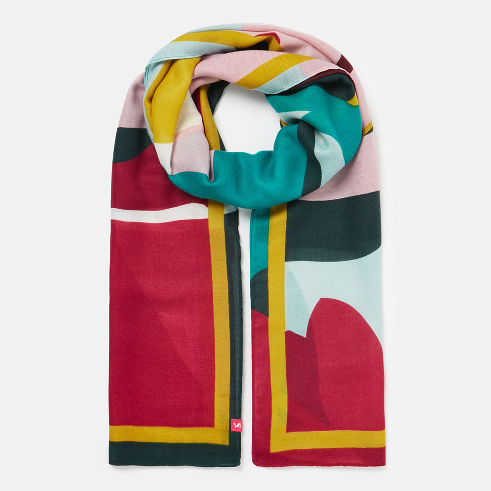 Joules  Isla Printed Scarf
