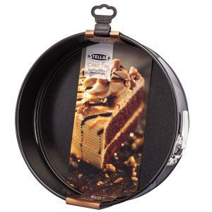 Stellar Round Cake Tin, Springform Non-Stick  25cm