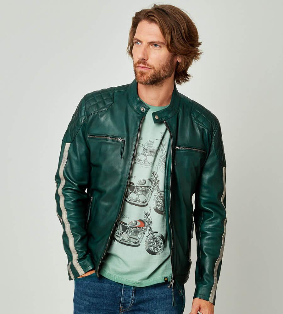 Joe Browns Feel The Speed Leather Jacket