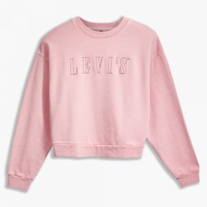 Graphic Diana Crew Blush Pink