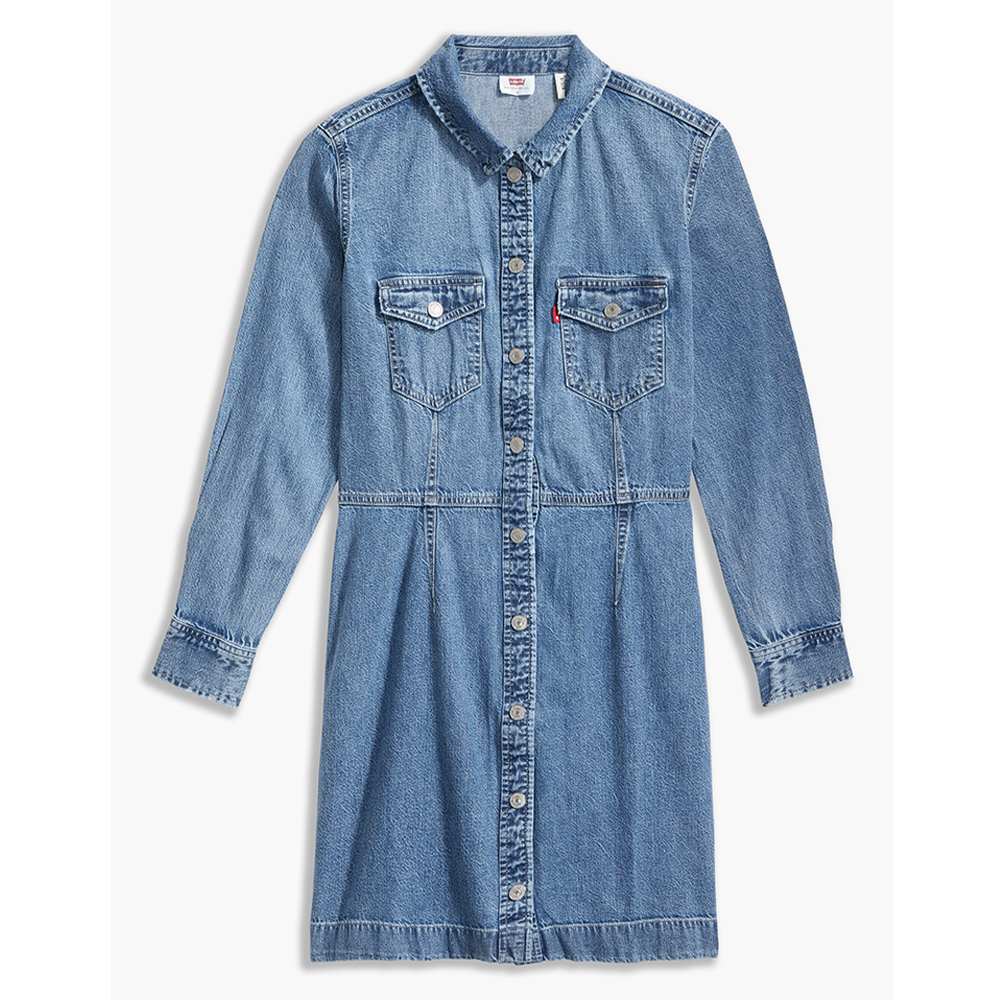 Ellie Denim Dress Vicunna