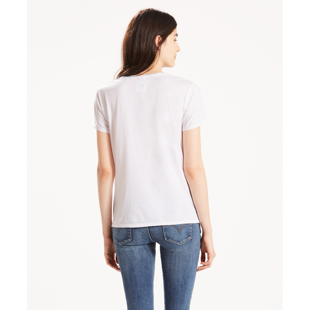 The Perfect Tee Batwing White
