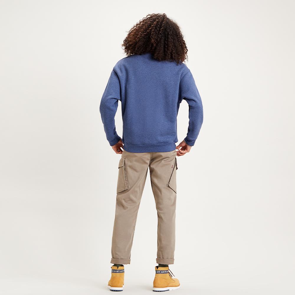 Premium Heavyweight Crew Sweatshirt Blue Indigo