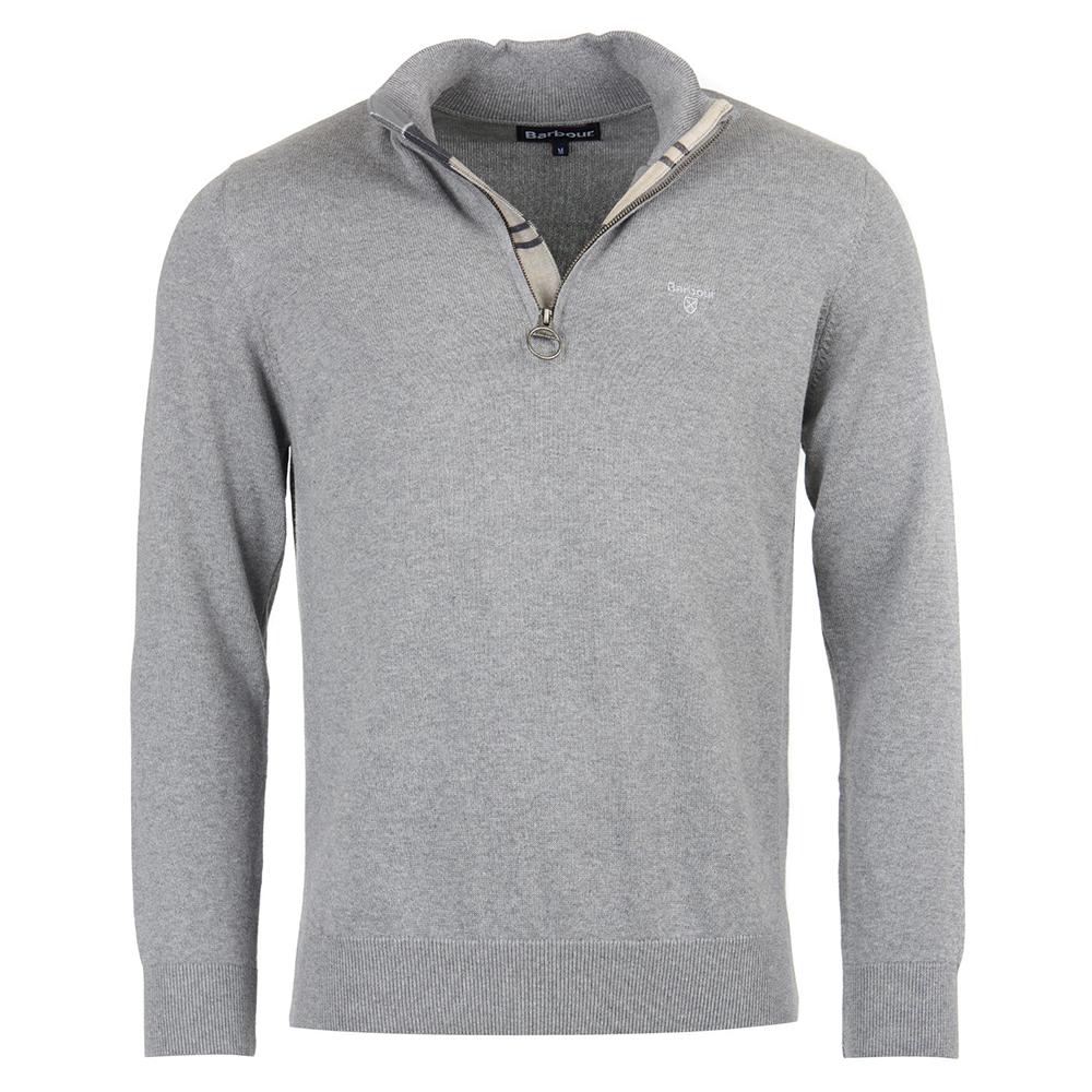 Barbour Cotton Half Zip Sweater