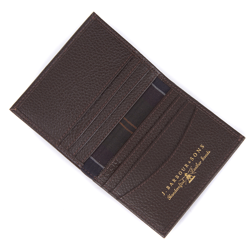 Barbour Amble Leather Billfold Wallet