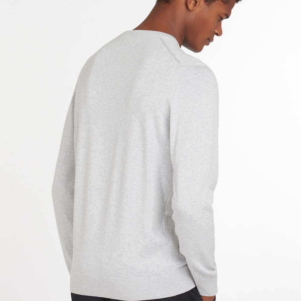 Barbour Pima Cotton Crew Neck Sweater