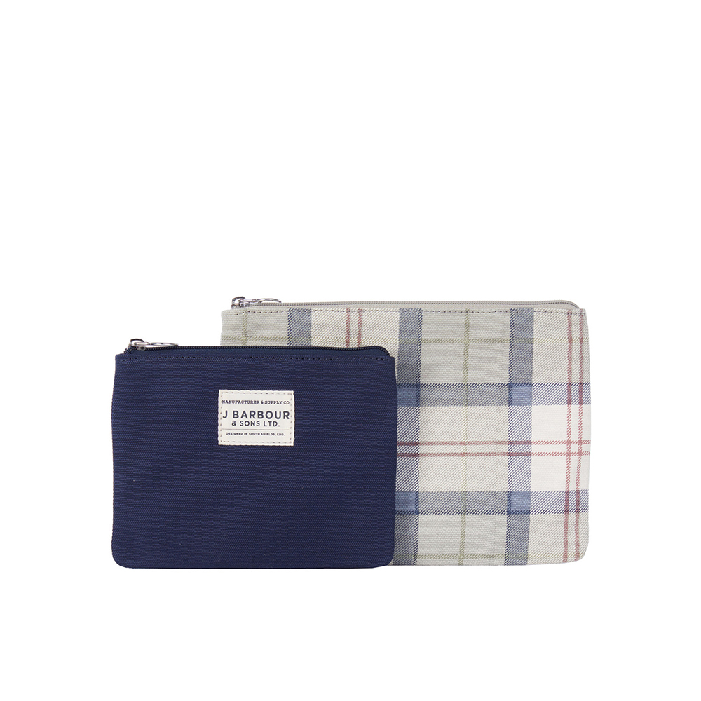 Barbour Ladies Tartan Pouch Set