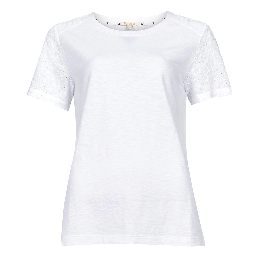Barbour Springtide Top White   White/8
