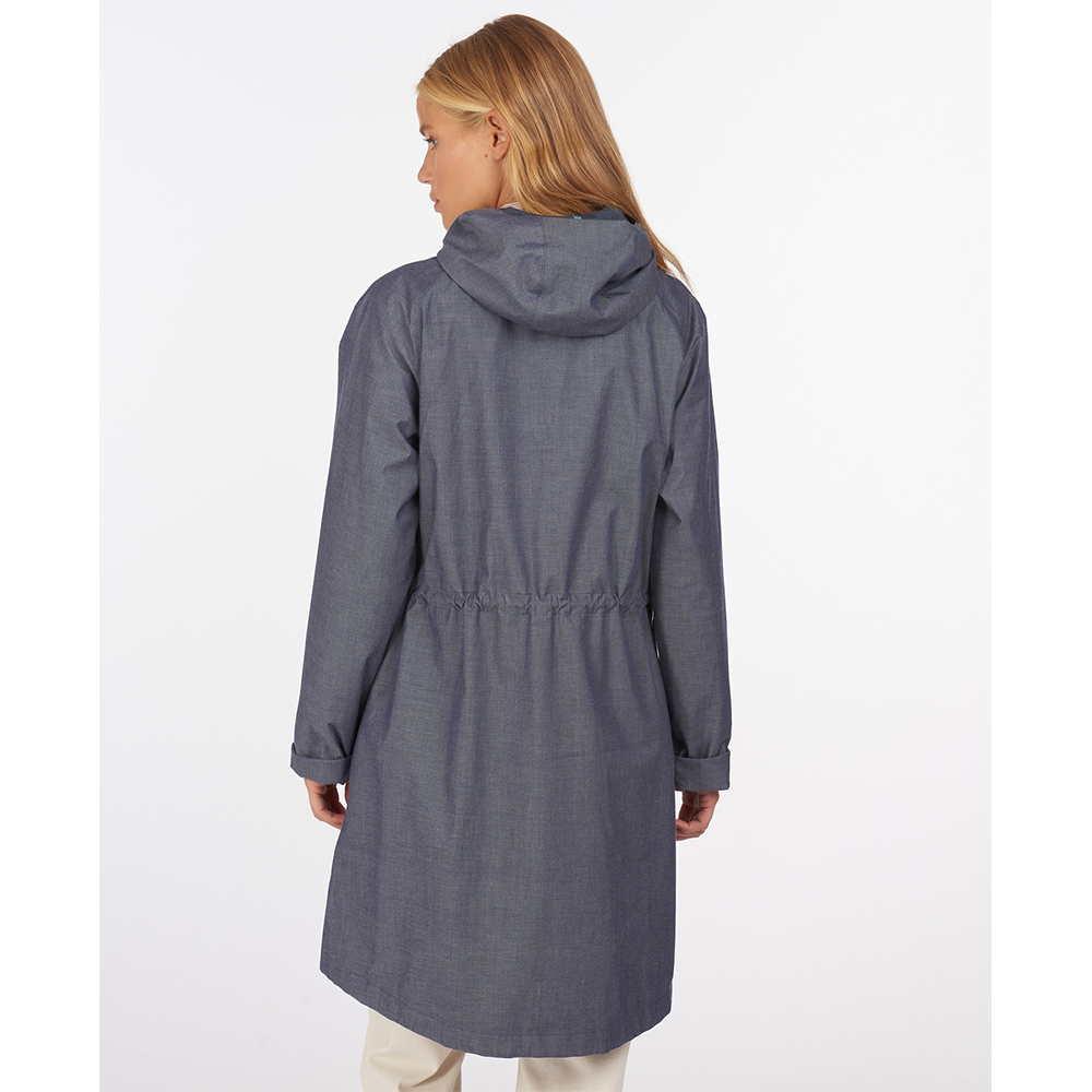 Barbour Padstow Jacket Chambra Chambray Marl/Navy/8