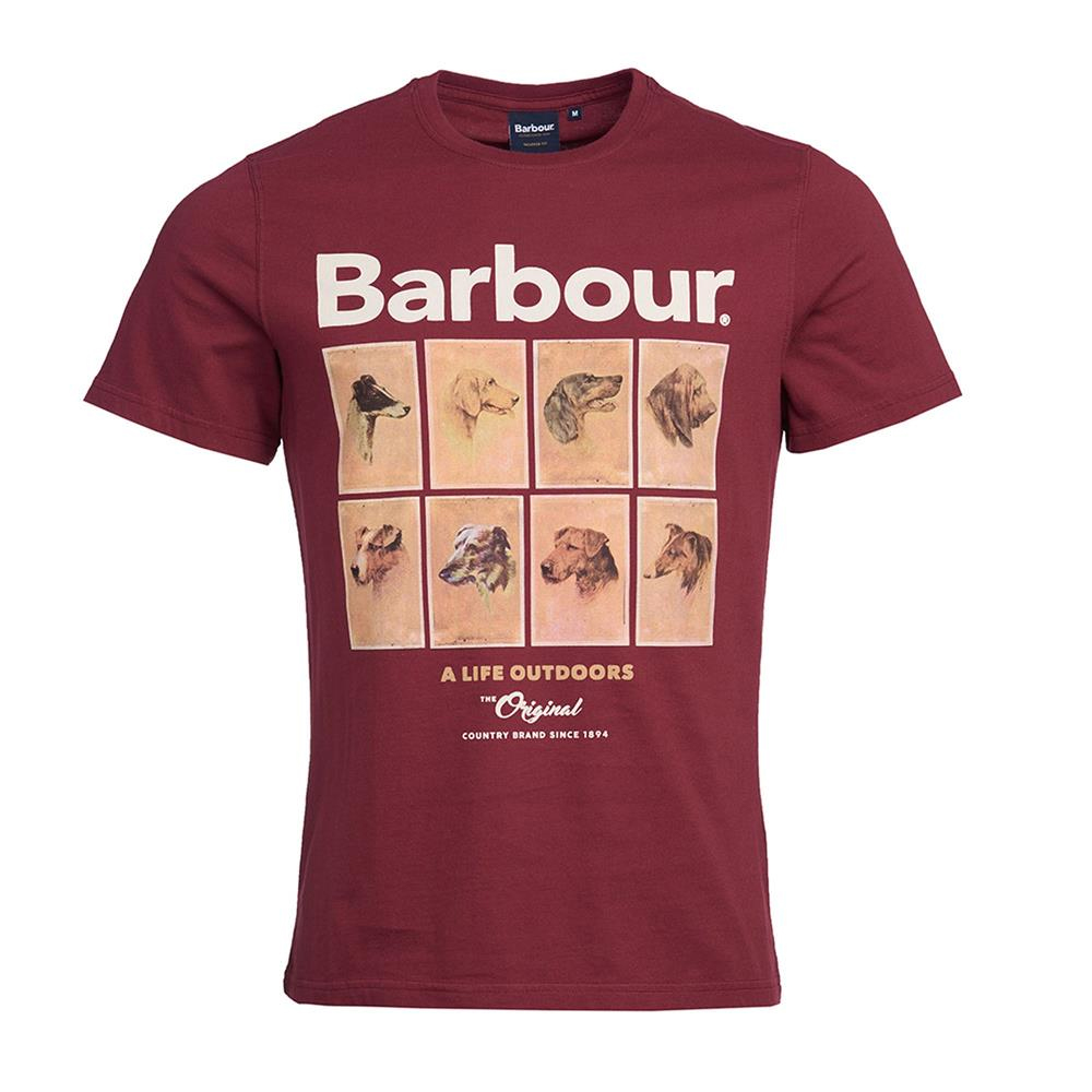 Barbour  Hounds Graphic Tee