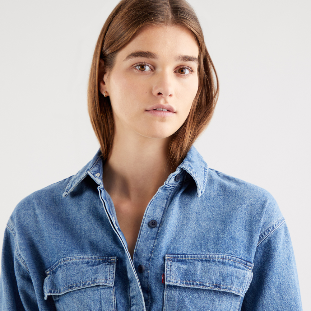 Levi's® Ainsley Utility Denim Dress