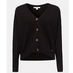Esprit Cardigan Made Of Soft Blended Wool