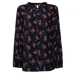 Esprit Floral Blouse Made Of LENZING™ ECOVERO™