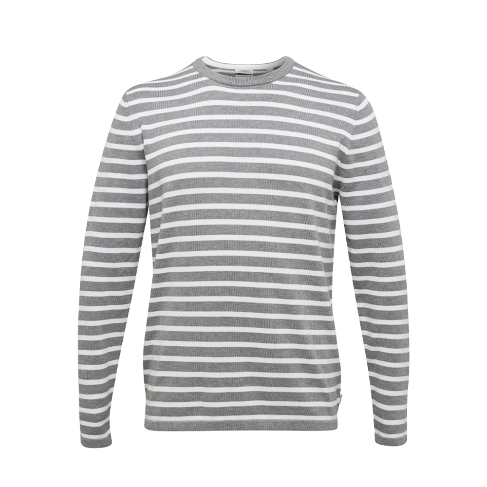 Esprit Striped jumper made of 100% organic cotton
