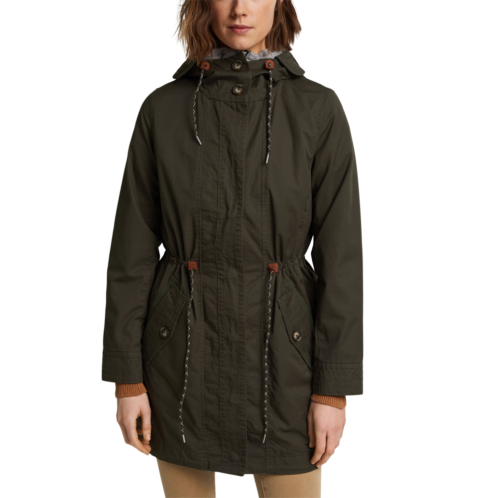 Esprit Woven Washed Coat