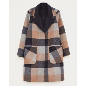 White Stuff Bista Reversible Wool Coat