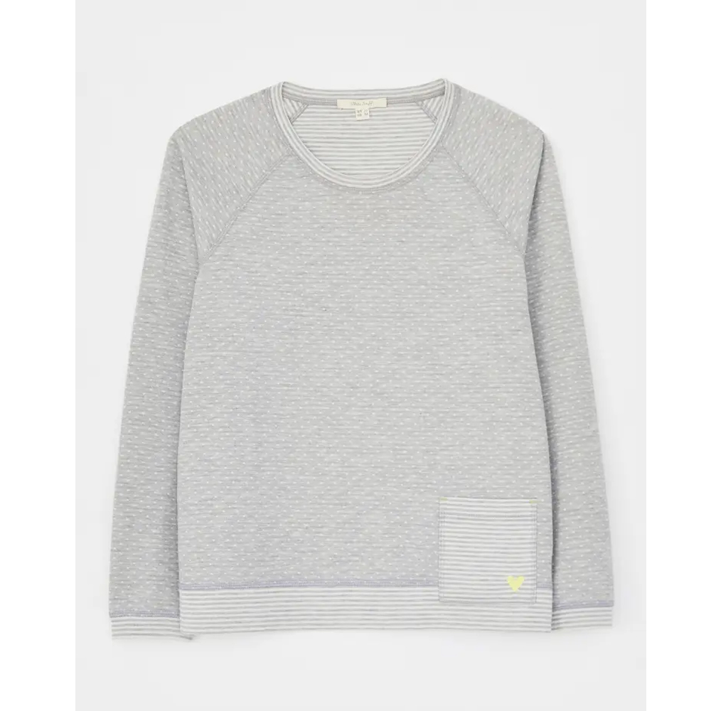 White Stuff Reversible Jersey Top