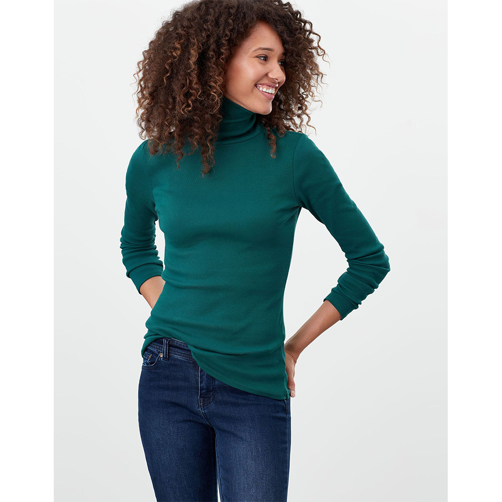 Joules Clarissa Roll Neck Jersey Top