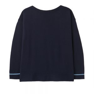 Joules Slash Neck Jumper