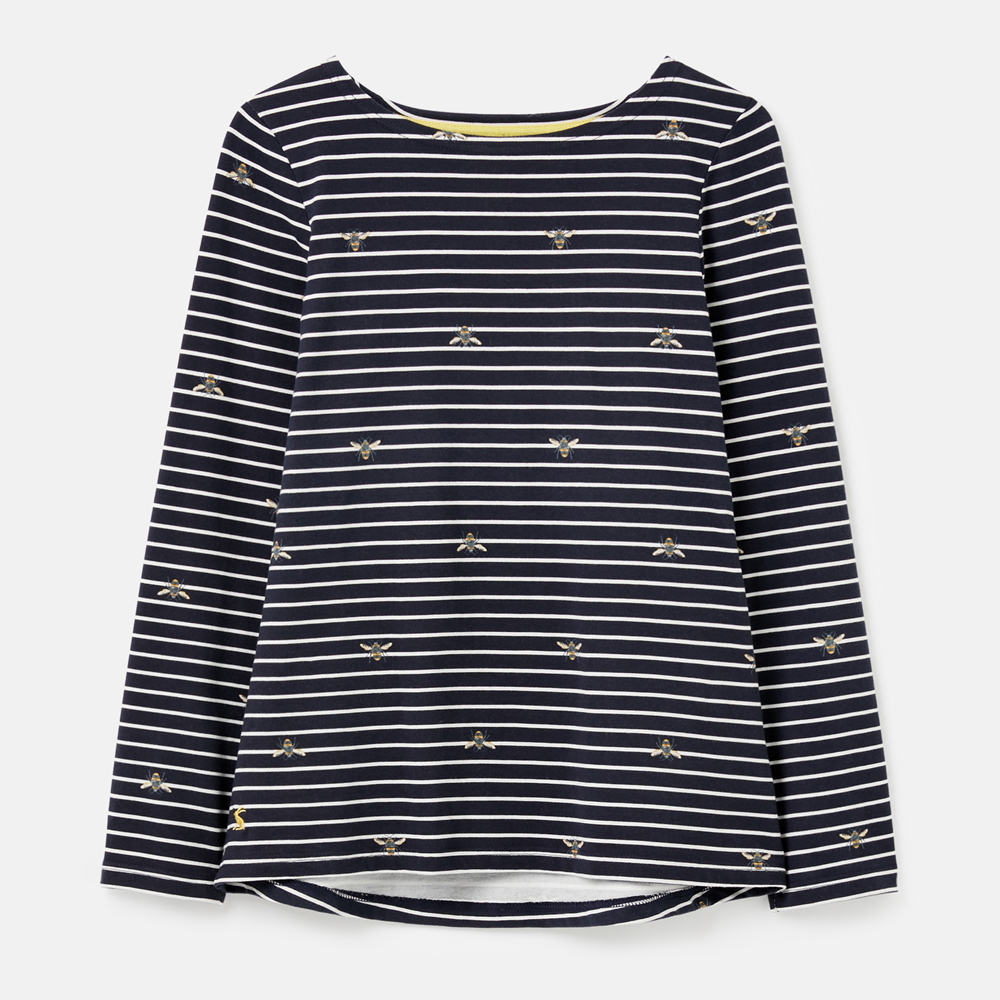 Joules  Harbour Print Long Sleeve Jersey Top