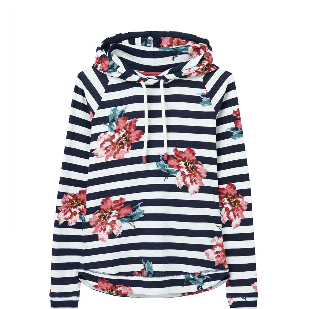 Joules Marlston Print Hooded Sweatshirt