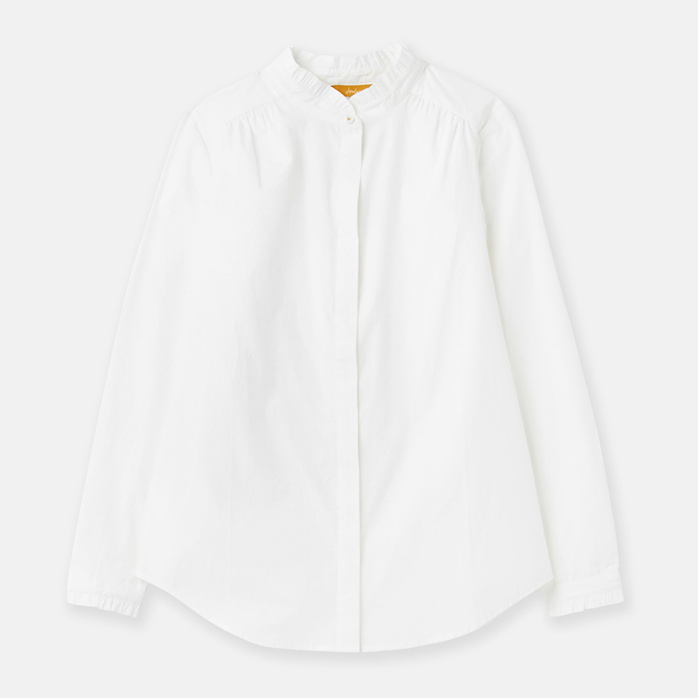 Joules Elma Pie Crust Button Though Shirt