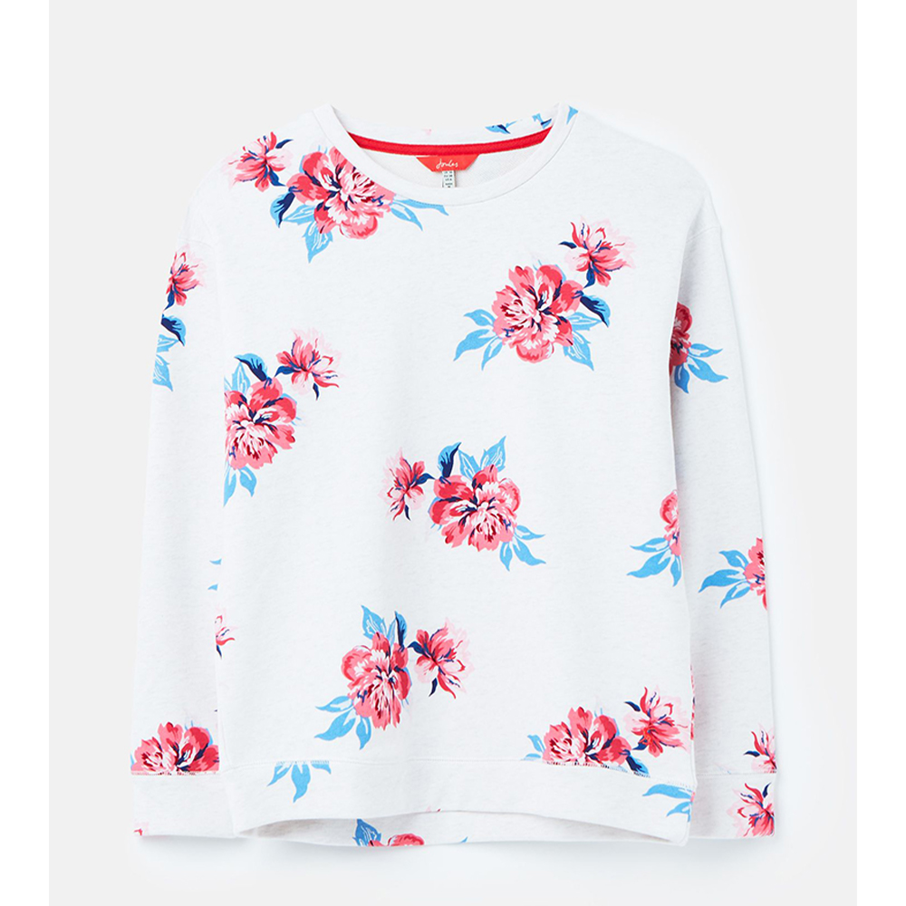 Joules  Presley Print Slim Fit Sweat