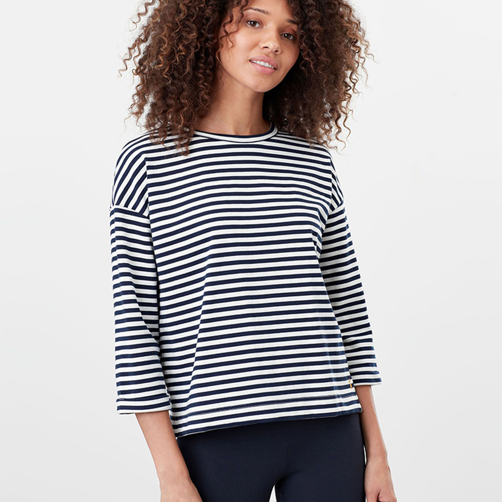 Joules  Livia Drop Shoulder Jersey Top