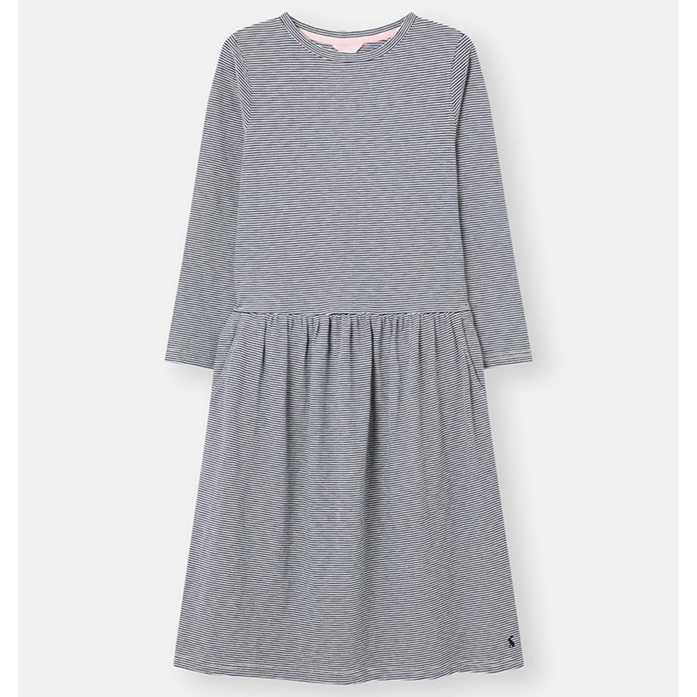 Joules Bernadette Low Gathered Waist Jersey Dress