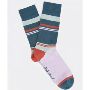 White Stuff Block Stripe Sock