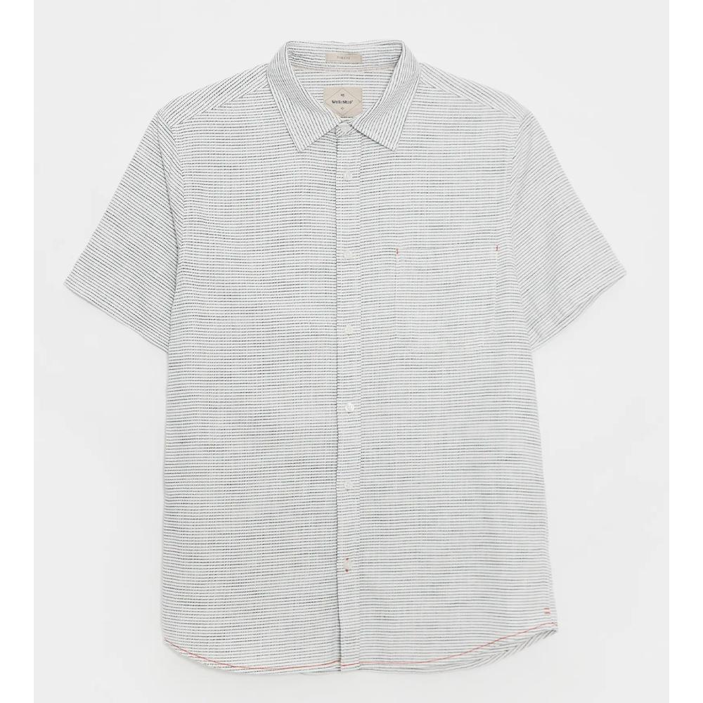 White Stuff Textured Stripe Shirt