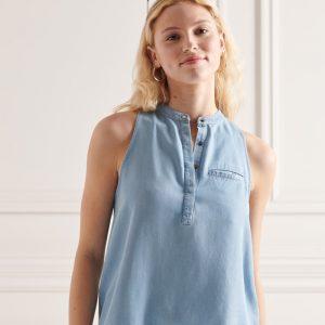 Superdry Tencel Sleeveless Shirt