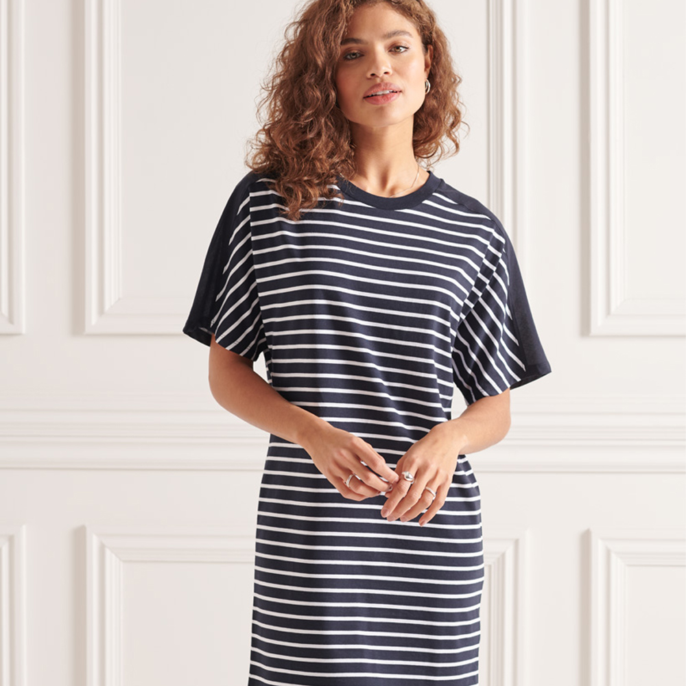 Superdry Cotton Modal T-Shirt Dress