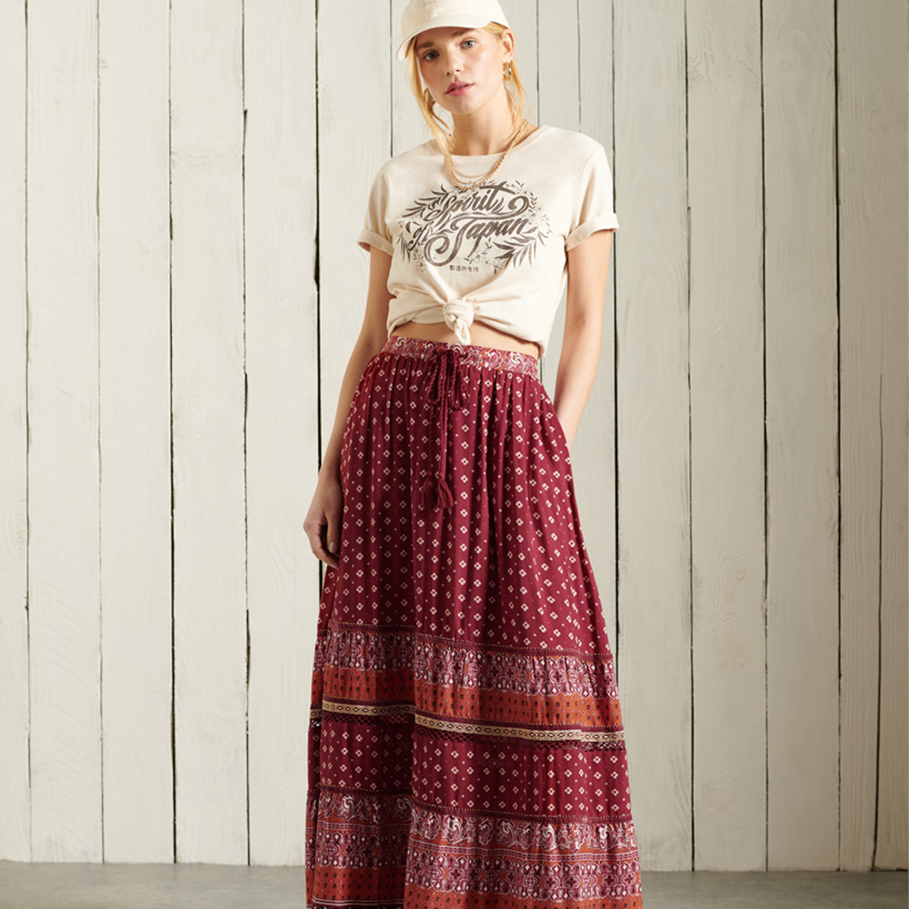 Superdry Amira Maxi Skirt