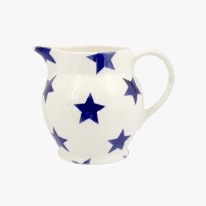 Emma Bridgewater Blue Star 1/2 Pint Jug