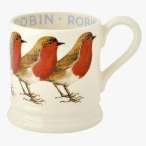 Emma Bridgewater Birds Robin 1/2 Pint Mug