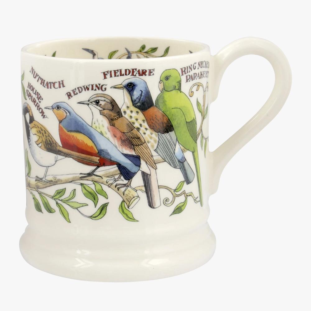 Emma Bridgewater Garden Birds 1/2 Pint Mug