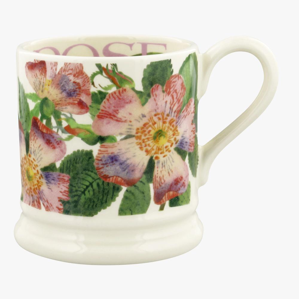 Emma Bridgewater Flowers Dog Rose 1/2 Pint Mug