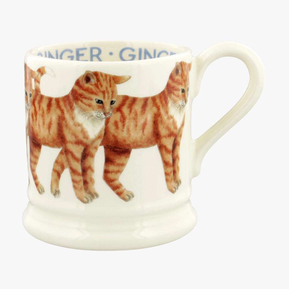 Emma Bridgewater Ginger Cats 1/2 Pint Mug