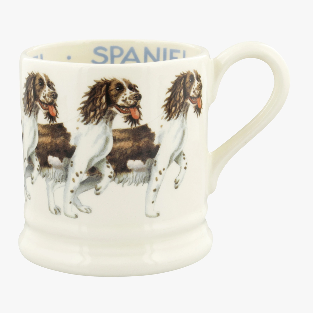 Emma Bridgewater Brown & Cream Spaniel 1/2 Pint Mug