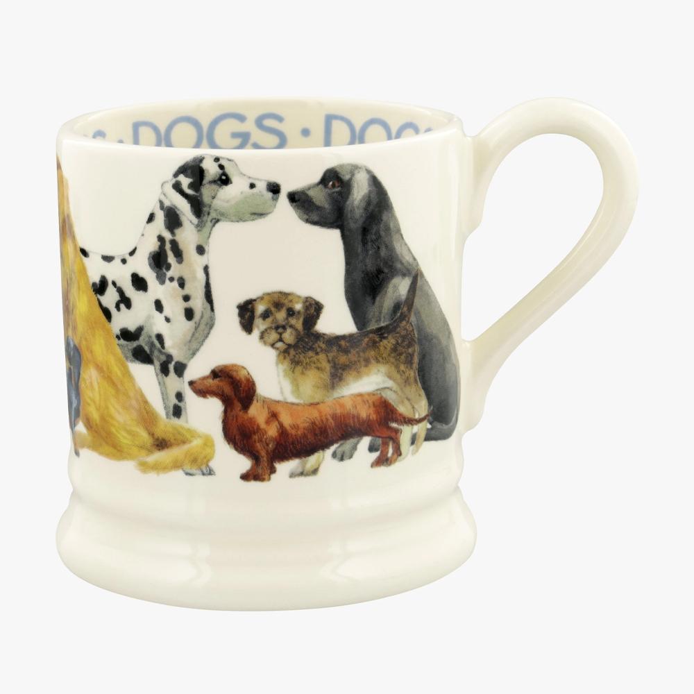 Emma Bridgewater Dogs All Over 1/2 Pint Mug