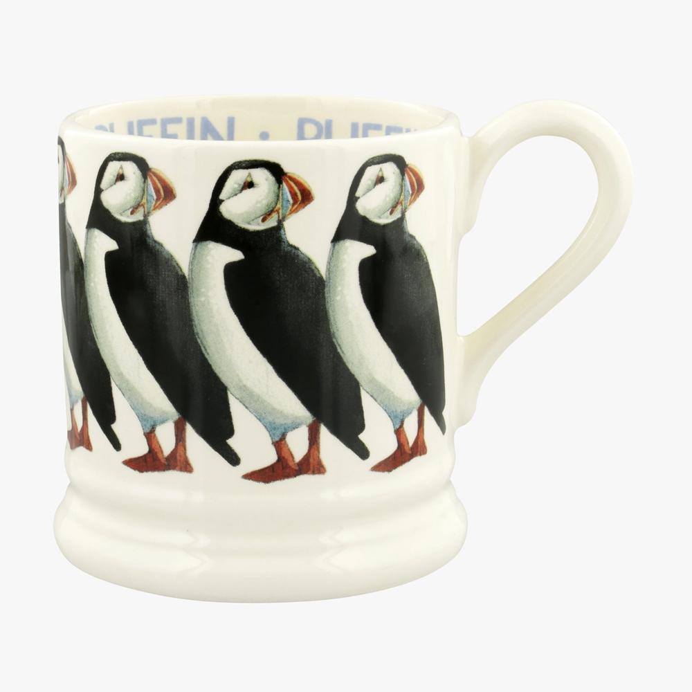 Emma Bridgewater Birds Puffin 1/2 Pint Mug