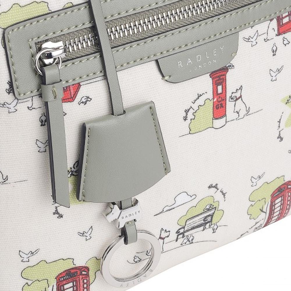 Radley MAPLE CROSS - PARK LIFE SMALL ZIP-TOP CROSS BODY BAG