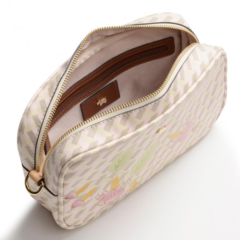 Radley GEO FLORAL SMALL ZIP-TOP CROSS BODY BAG