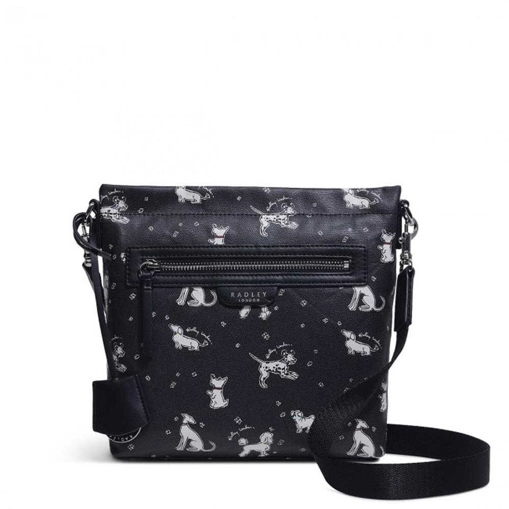 Radley MAPLE CROSS - FUN PUPS SMALL ZIP-TOP CROSS BODY BAG