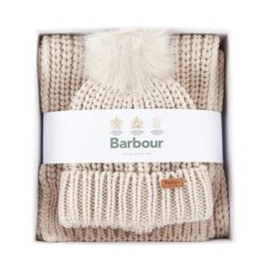 Barbour Saltburn Beanie & Scarf Set