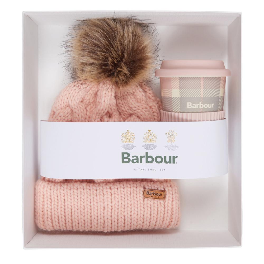 Barbour Tartan Travel Mug / Beanie