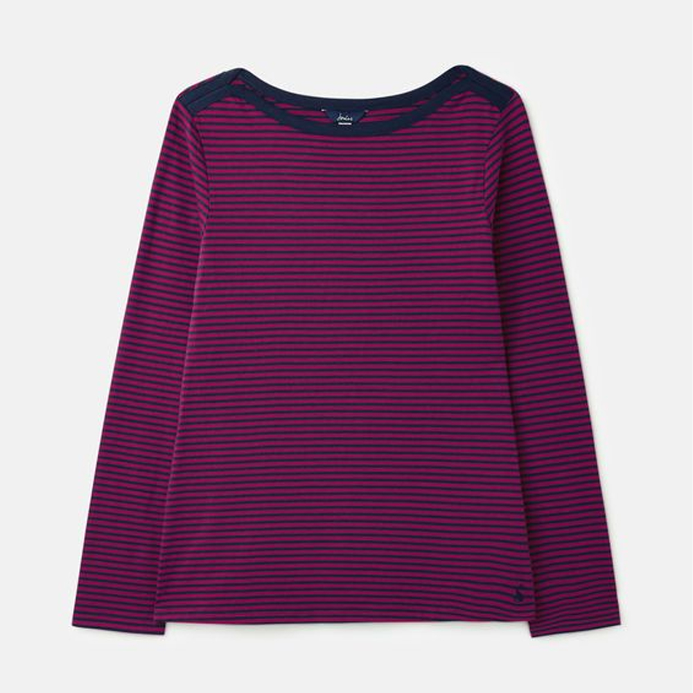 Joules Shelby Envelope Neck Jersey Top